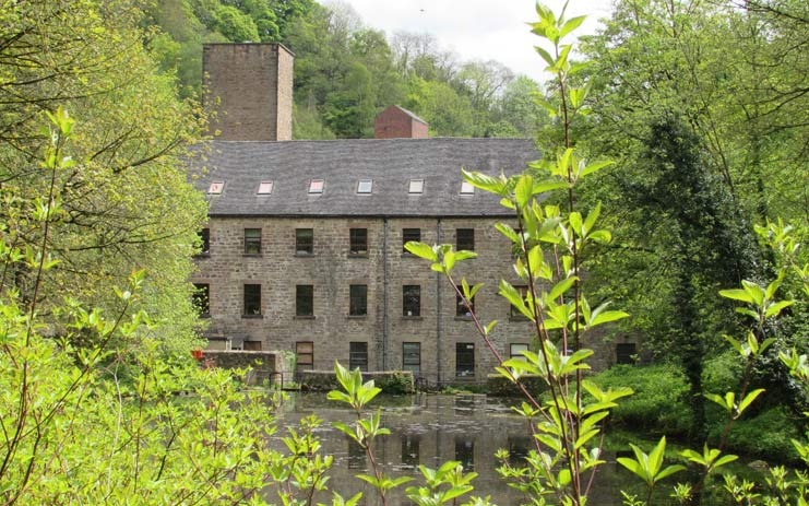 cromford pond near via gellia mill