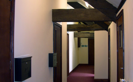 loft style business office cromford
